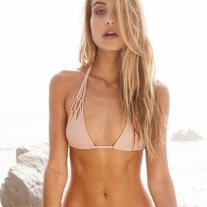Acacia Swimwear Tunnels Top in Topless